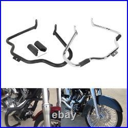 Mustache Engine Guard Crash Bar Fit For Harley Davidson 00-17 FL Softail Models