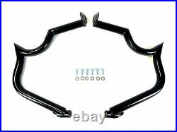 Nice Victory Cross Roads Country Highway Bar Engine Guard Crash Black 10-Later