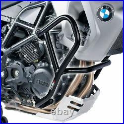 Puig Black Lower Engine Crash Bars Guard Protectors Bmw F650gs & F800gs 08 12