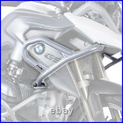 Puig Grey Upper Engine Crash Bars Guard Protectors Bmw R1200gs 14 18 M7542u