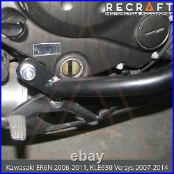 Recraft Kawasaki ER6N 06-11, KLE650 07-14 Versys Crash Bars Engine Guard ver. 2