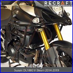 Recraft Suzuki DL1000 V-Strom 2014-2019 Crash Bars Engine Guard Frame Protector
