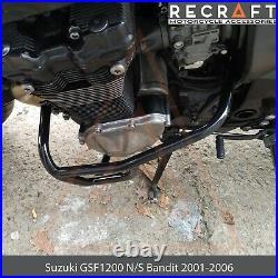Recraft Suzuki GSF1200 N/S Bandit 2001-2006 Crash Bars Engine Guard Frame