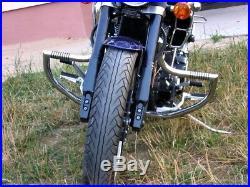 SP Yamaha Warrior XV1700 Highway Crash Bars Protector Engine Guards with Pegs