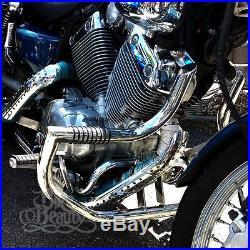 SSP XV535 Yamaha Virago XV 535 Highway Crash Bar Engine Guard with Pegs