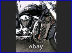 S Kawasaki Vulcan VN 2000 Highway Crash Bar Engine Guard Stainless Steel