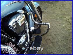 Sp Vn2000 Kawasaki Vulcan Vn 2000 Stainless Engine Guard Crash Bar With Pegs