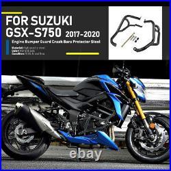 Stunt Cage Crash Bar Engine Frame Guard for Suzuki GSX-S 750 GSX S 750 2017-2020