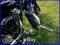 Yamaha DRAGSTAR V STAR XVS 650 Crash Bar Heavy Duty XVS650A Highway Engine Guard