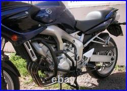Yamaha FZ6 Fazer S2 Engine guard & Crash bars Black Mmoto YAM0170 FAZER BIKER