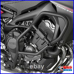 Yamaha MT- 09 Tracer Givi Engine Crash Bars In Black 2015 to 2017 TN2122