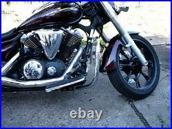 Yamaha Midnight Star XVS 950 V-Star XVS950 Crash Bar Highway Engine Guard