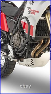 Yamaha Tenere 700 2019 ENGINE GUARDS crashbars CRASH-BARS black GIVI TN2145