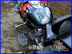 Yamaha XVS1100 V-Star & Dragstar Highway Crash bar engine guard Stainless w Pegs