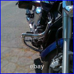 Yamaha XVS 1300 Midnight Star Stainless steel crash bar engine guard with pegs